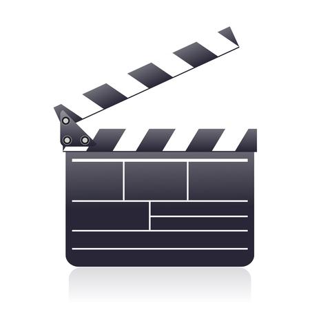 Movie board sign – stock vector 일러스트