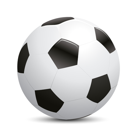 Soccer ball, football – vector