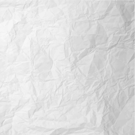 Crushed paper texture – stock vector