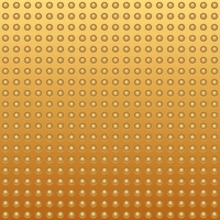 Gold texture rivet – stock vector