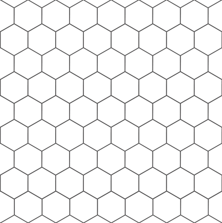 Hexagon geometric texture – vector for stock