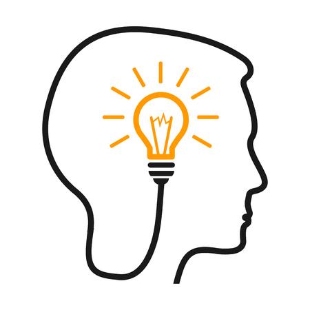 Idea, creative concept - for stock Illustration