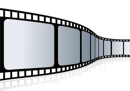 Cinema tape - vector illustration 일러스트