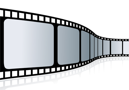 Cinema tape - vector illustration