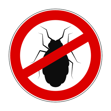 Sign ban anti beetle - for stock