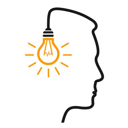 Idea, concept creativo - vettore per stock