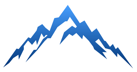 Blue mountain – vector