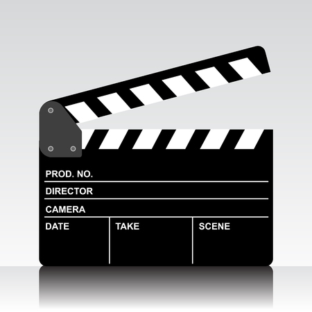 Movie board – vector for stock