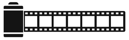Cinema tape - vector for stock