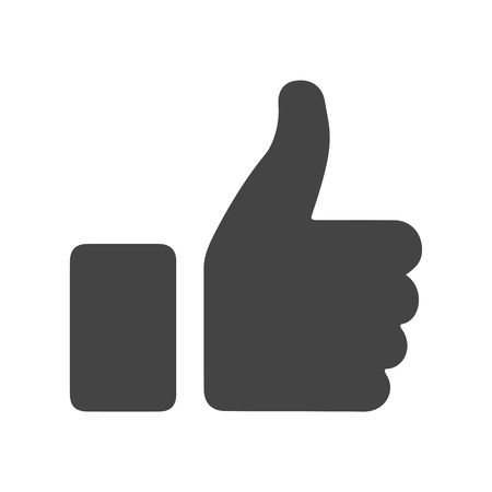 Thumb up, i like it, Yes – vector for stock 일러스트