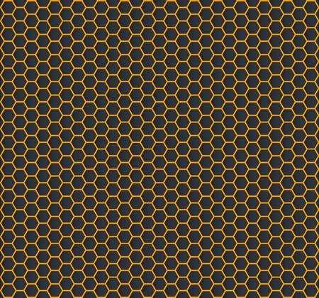 Gold hexagon texture – stock vector Фото со стока - 102794950