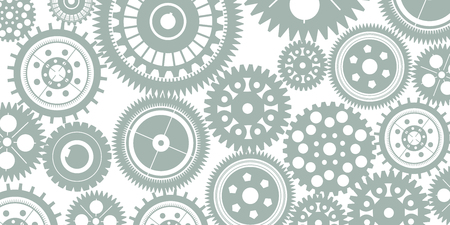 Gears background – stock vector Иллюстрация