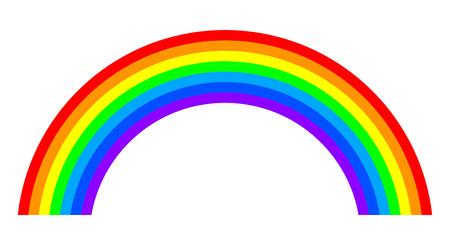 Rainbow - vector