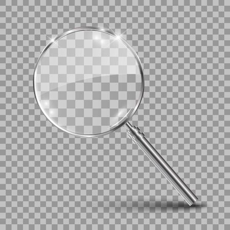 Magnifying glass – for stock vector