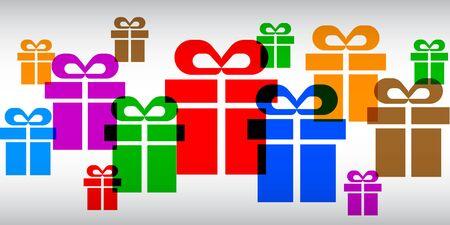Gift set - vector