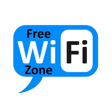 Wifi symbol zone location symbol