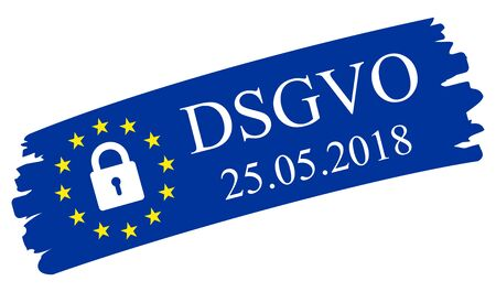 General Data Protection Regulation, in german: Datenschutz Grundverordnung (DSGVO)