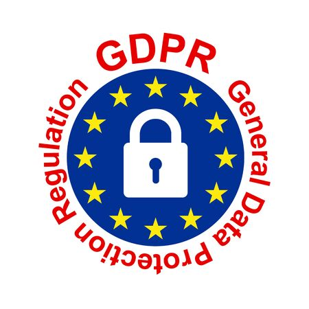 General Data Protection Regulation (GDPR) Ilustração