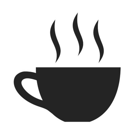 Elegant cup of tea icon