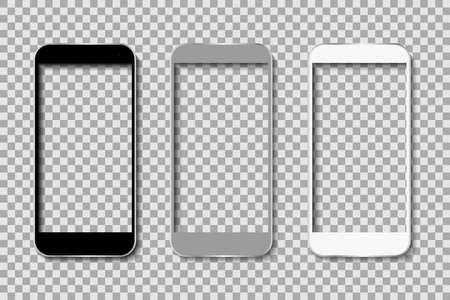 Phone body without screen - stock vector