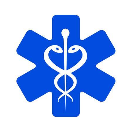Ambulances icon - stock vector