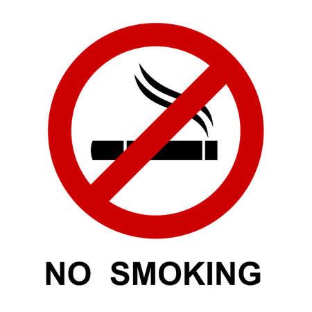 No smoking, cigarette sign - stock vector