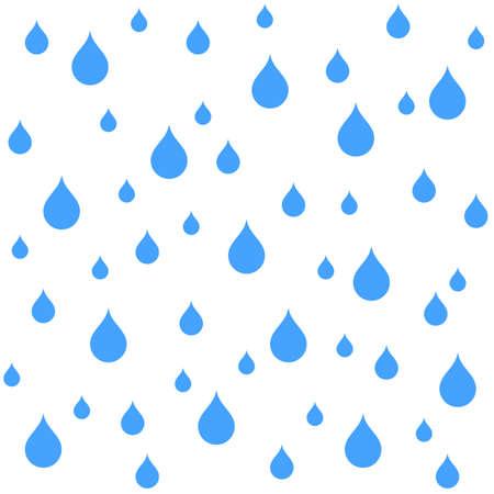 Rain texture - stock vector