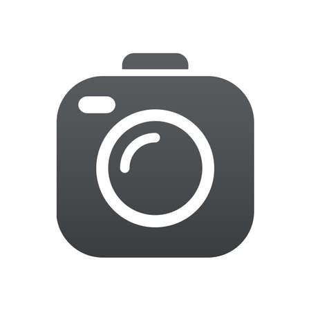 Photo camera icons sign - stock vector