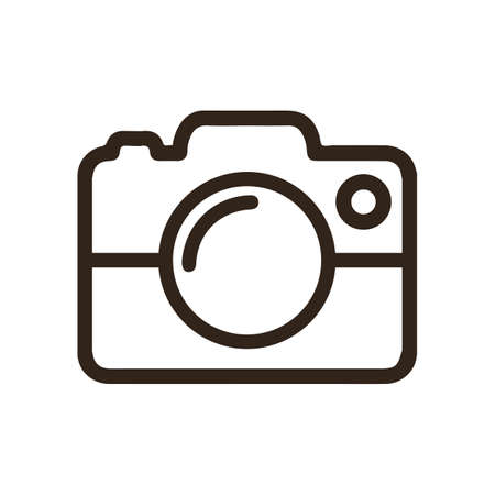 Photo camera icons sign - for stock