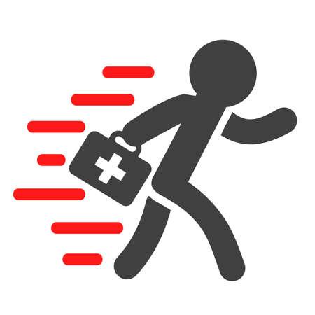 Ambulances icon - vector