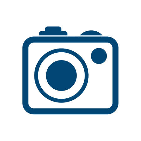 Photo camera icons sign - vector for stock Stock Illustratie