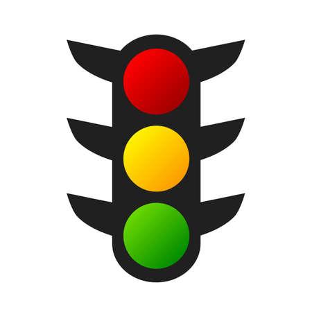 Traffic lights sign - stock vector