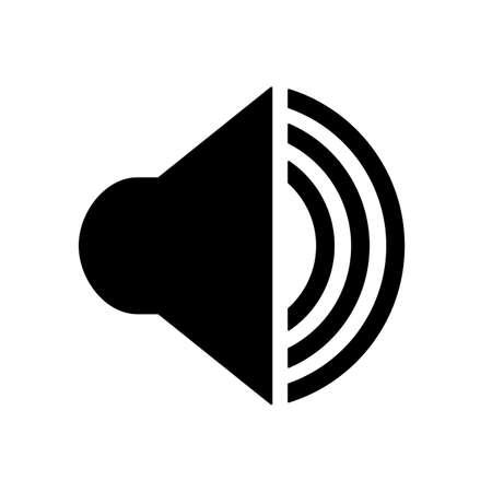 Audio speaker volume icon for apps and websites - for stock Ilustração