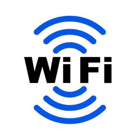 Wifi zone location icon - for stock