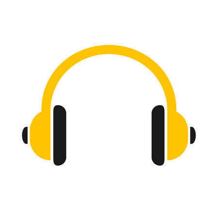 Headphone icon sign - vector for stock
