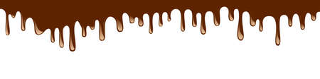 Abstract chocolate background - vector