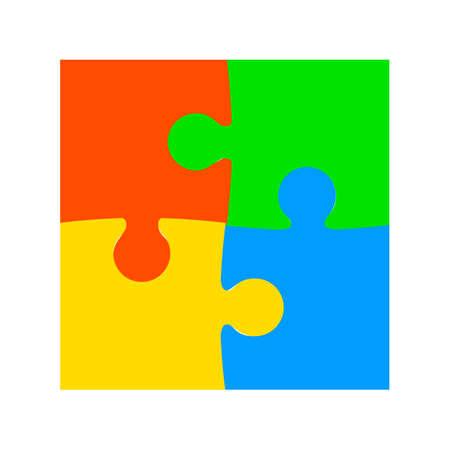 Four color puzzle