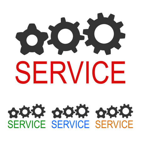 Creative  service with gears