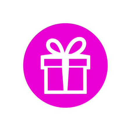 Gift icon sign - stock vector Иллюстрация