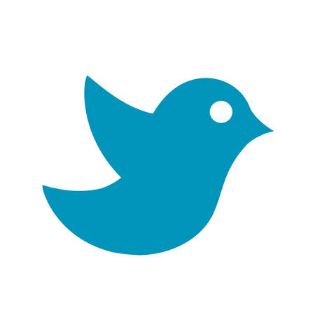 Bird icon isolated - for stock