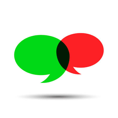 Chat icon sign - vector for stock