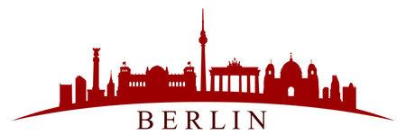 Berlin city silhouette - vector