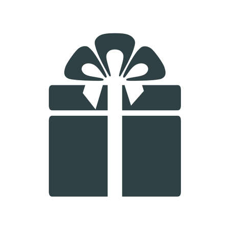 Gift icon sign - vector for stock