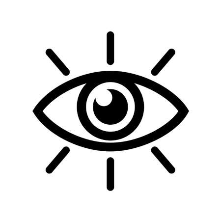 Eye icon, vision sign - vector for stock