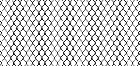 Fence black geometric background - vector
