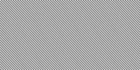Diagonal lines black pattern. Seamless texture - stock vector