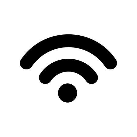 Wifi internet icon sign - vector