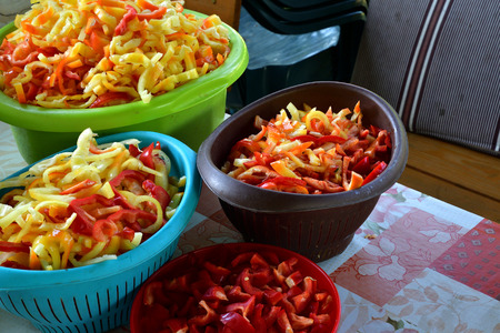 Paprika tomato for vegetarian cooking