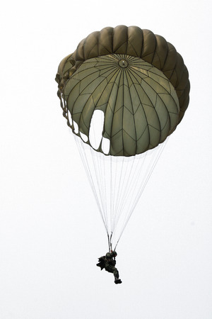 isolate airborne soldier