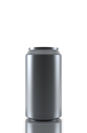 drink can: Metal Aluminum Beverage Drink Can isolated on white background